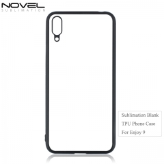 Custom Printing Blank 2D Soft TPU Phone Case For Huawei Enjoy 9