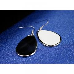 Custom DIY Popular Fashion Sublimation Blank Earrings