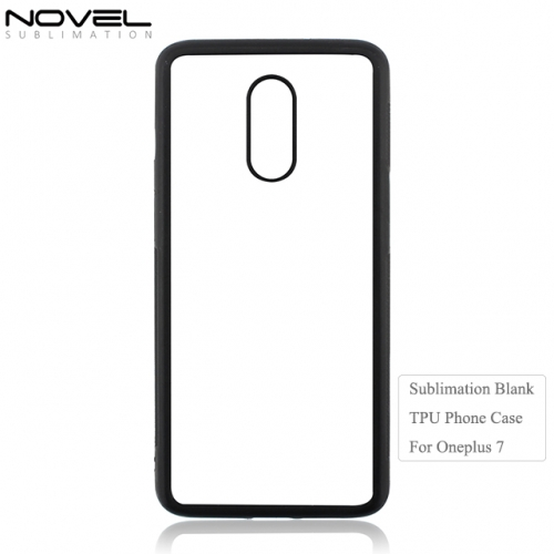 2D Flexible TPU Sublimation Blank Phone case for Oneplus 7
