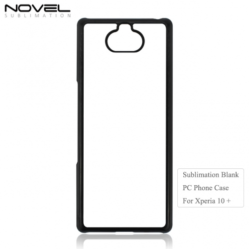 Customized Printing Blank 2D Sublimation PC Phone Case For Sony 10 Plus