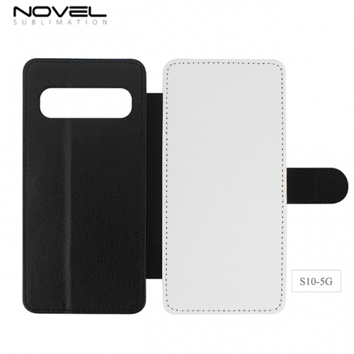 Hot Sales Blank Sublimation PU Leather Phone Case For Sam sung Galaxy S10 5G