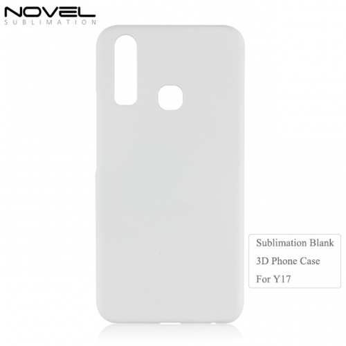 High Quality DIY Custom 3D Blank Sublimation Cellphone Case For Vivo Y17