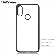 Hot Selling 2D hard PC Blank Phone Case For Redmi 7