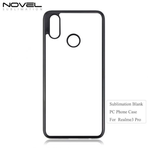 New Arrival 2D PC Sublimation Cellphone Case Printing For OPP Realme 3 Pro