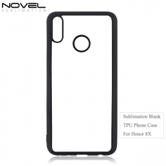 Hot Selling Factory 2D TPU Blank Phone Back Cover For Huawei Honor 8X