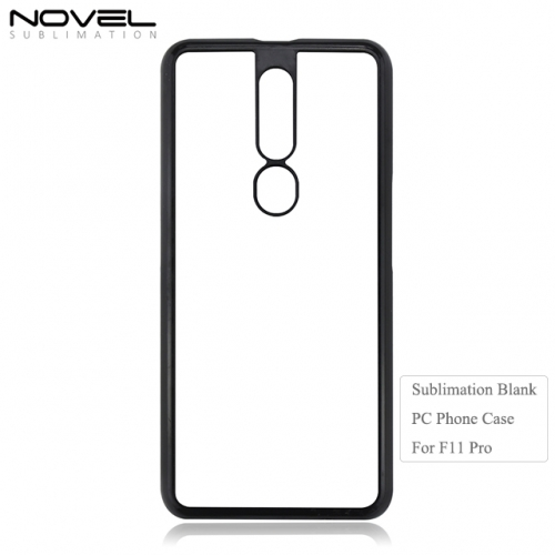 New Arrival Personality Blank Sublimation 2D PC Phone Case For OPPO F11 Pro