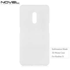 New Arrival 3D Hard Plastic Sublimation Phone Case For OPP Realme X