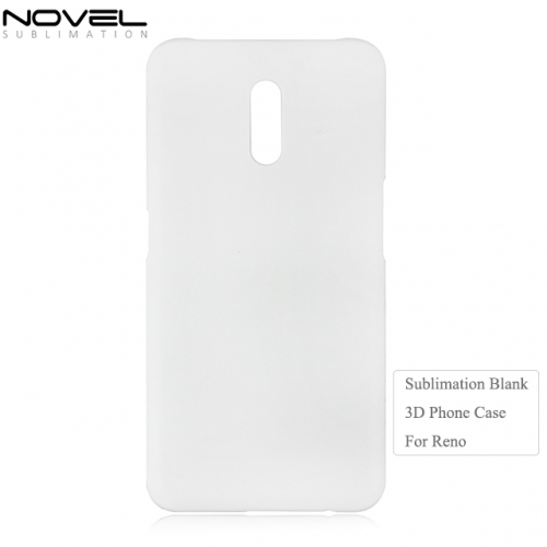 Personality High Quality 3D Plastic Sublimation Phone Case For OPPO Reno