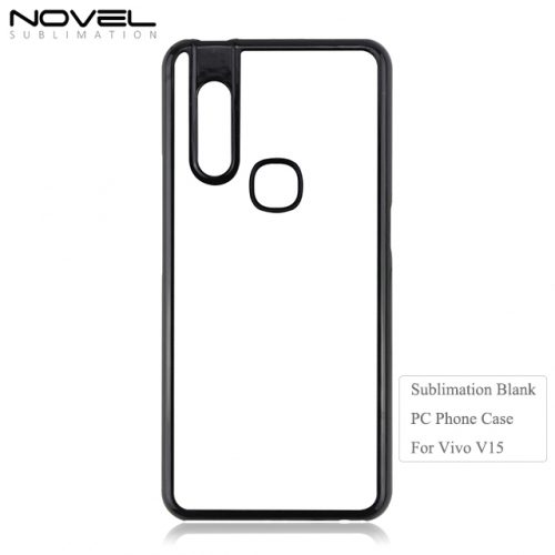 High Quality 2D DIY Sublimation PC Phone Case Cover For Vivo V15