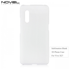 Custom Printing Blank 3D Plastic Back Phone Cover For Vivo X27
