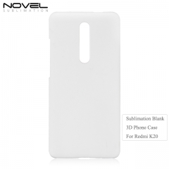 Hot Selling Blank Sublimation 3D Back Phone Cover Case For Xiaomi Redmi K20