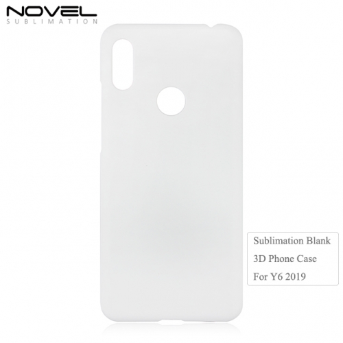 2019 New Arrival 3D Printing Sublimation Blank Phone Case For Huawei Y6 2019