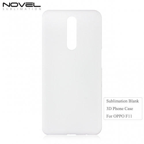 New Arrival 3D PC Blank Sublimation Mobile Phone Case For OPPO F11