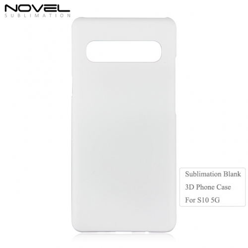 Custom DIY Blank Sublimation 3D Cell Phone Case for Galaxy S10 5G