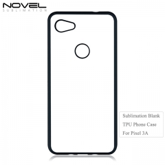 2D DIY Sublimation Blank Flexible TPU Phone Case For Google Pixel 3A