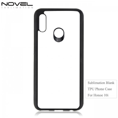 Custom Printing 2D TPU Sublimation Blank Phone Case For Huawei Honor 10i