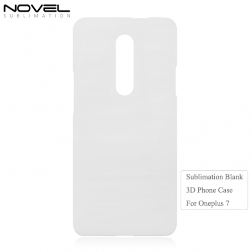 Personality 3D Blank Sublimation Mobile Phone Case For Oneplus 7