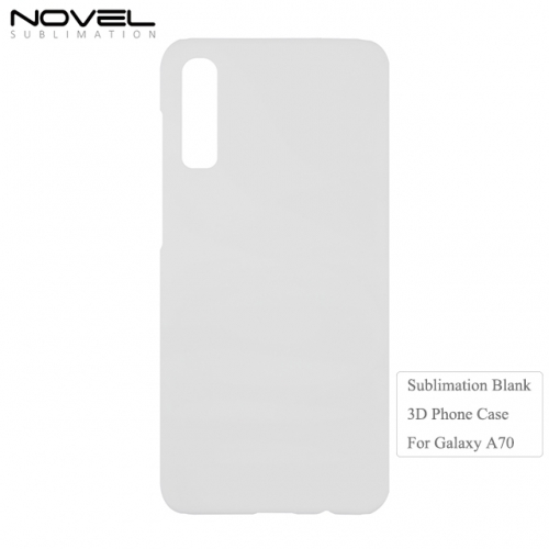 New Arrival Customized Blank 3D Plastic Printing Phone Case For Galaxy A70