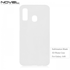 Personality 3D Blank Sublimation Back Phone Cover Case For Galaxy A40