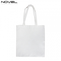 New Arrival Blank Sublimation Canvas Shoulder Bags For Shopping