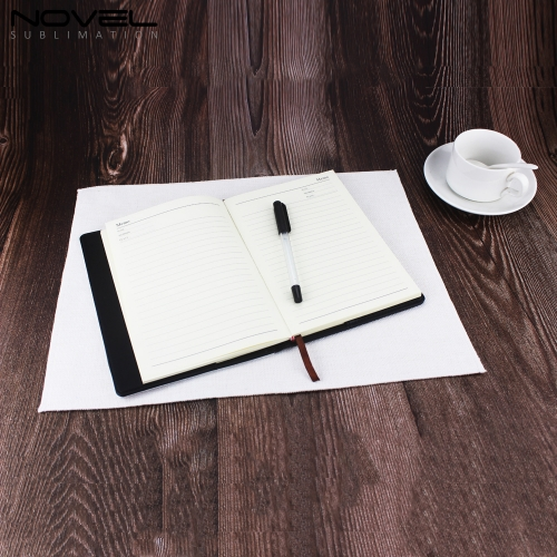 2019 New Arrival Custom Printing Sublimation Linen Table Mat