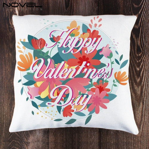 Houseware Custom Printed Blank Sublimation Linen Pillow Cover