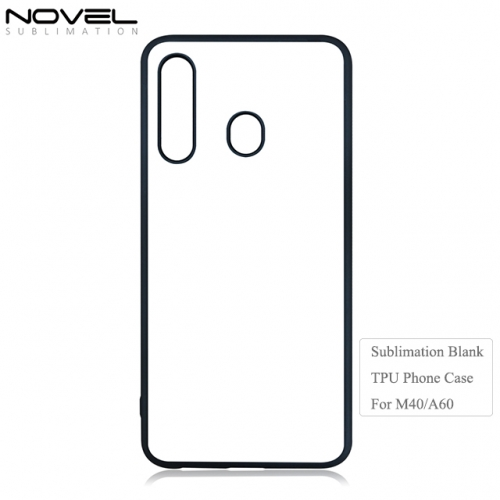 2019 New Arrival 2D Sublimation Blank TPU Phone Case For Sam sung M40