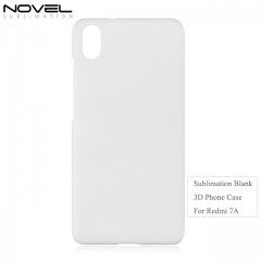 Newly DIY Blank Sublimation 3D PC Phone Case For Xiaomi Redmi 7A