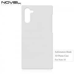 2019 New Arrival Blank 3D Sublimation Plastic  Phone Case for Galaxy Note 10