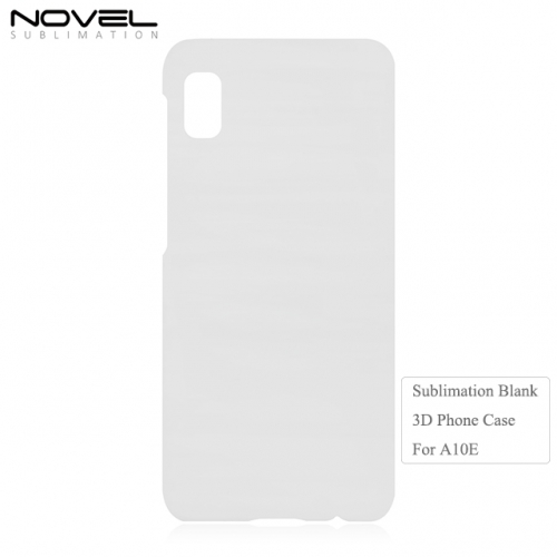 New Arrival 3D Printing Sublimation Blank Plastic Phone Case for Galaxy A20E