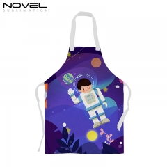 New Arrival Custom Printing Blank Sublimation Linen Apron for Child