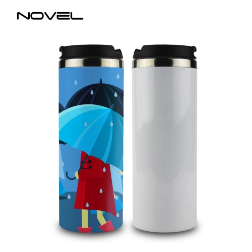 High Quality Printing Sublimation Blank Stainless Steel Thermos Flask