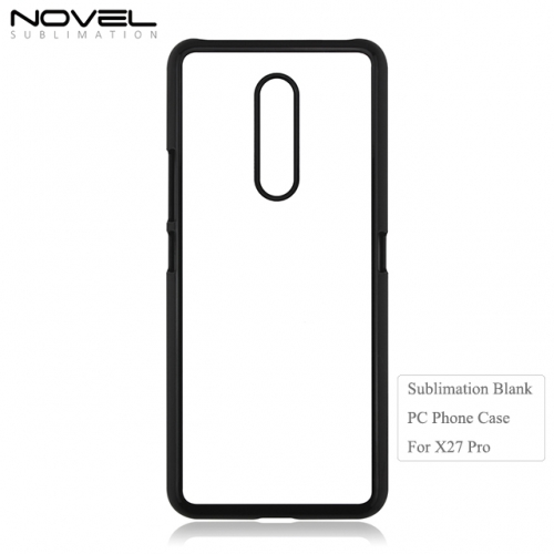 High Quality 2D Plastic Blank Sublimation Phone Case for vivo X27 Pro