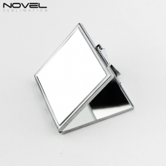 Personality  Designs Sublimation Blank Stainless Steel Rectangle  Mirror with White Plate