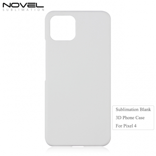 Custom Printing Blank Sublimation 3D PC Phone Case For Google Pixel 4