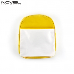 Customized High Quality Heat Transfer Blank Kids Backpack
