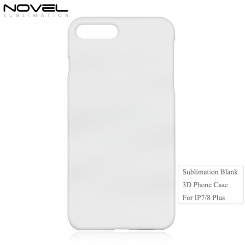 Personality 3D Plastic Blank Sublimation Back Phone Cover For iPhone 7 Plus