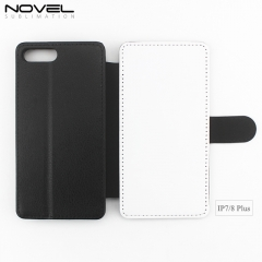 High Quality PU Leather Phone Wallet For iPhone 7 Plus