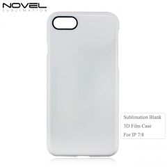 High Quality Fashion Blank Sublimation 3D Film Phone Case For iPhone 7