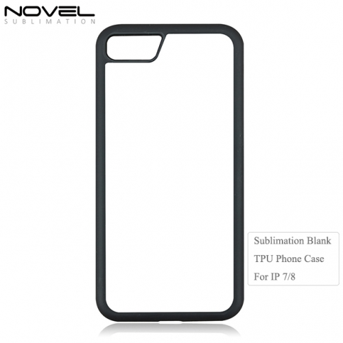 Hot Sales Sublimation Blank 2D Soft Rubber Phone Case For IPhone 7