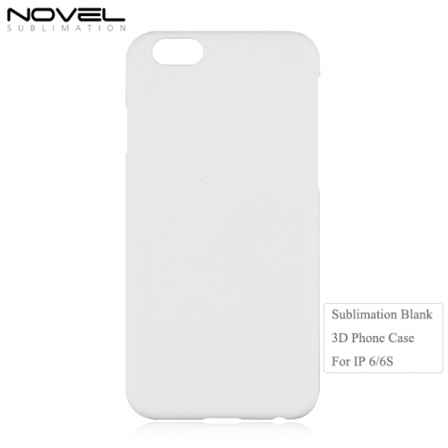Hot Sales Sublimation DIY 3D PC Blank Back Phone Case For iPhone 6