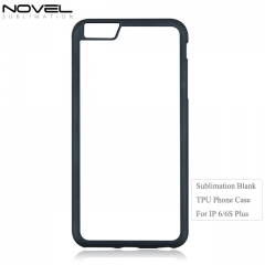 Custom Design Blnak 2D Sublimation TPUPhone Case For IPhone 6 Plus