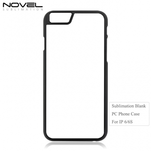 Blank Sublimation 2D PC Phone Case for iPhone 6.6s On Hot Sales