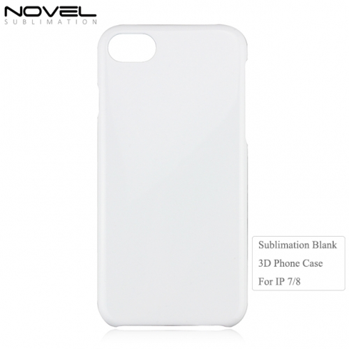 DIY Sublimation 3D PC Blank Back Phone Case For iPhone 7