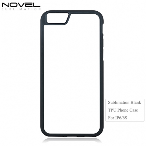 Factory Price Sublimation Blank 2D TPU Phone Case For IPhone 6