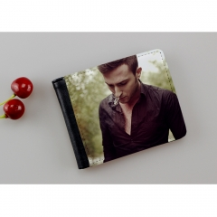DIY Sublimation Blank Bi-Fold Wallet for Men