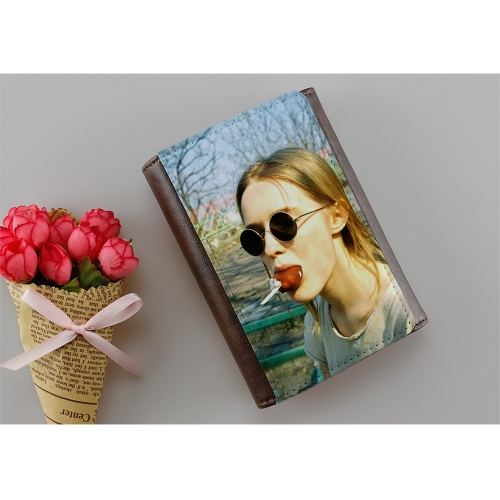 Fashionable Blank Sublimation Small Hand Wallet for Lady