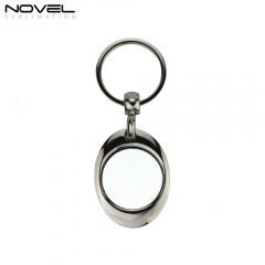 Sublimation Fashion Personality Blank Metal Bottle Opener Keychain