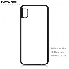 New Arrival 2D Sublimation Blank PC Phone Case For Galaxy A10E