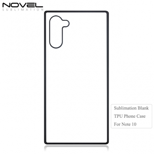 2D TPU Sublimation Blank Phone Case For Galaxy Note 10